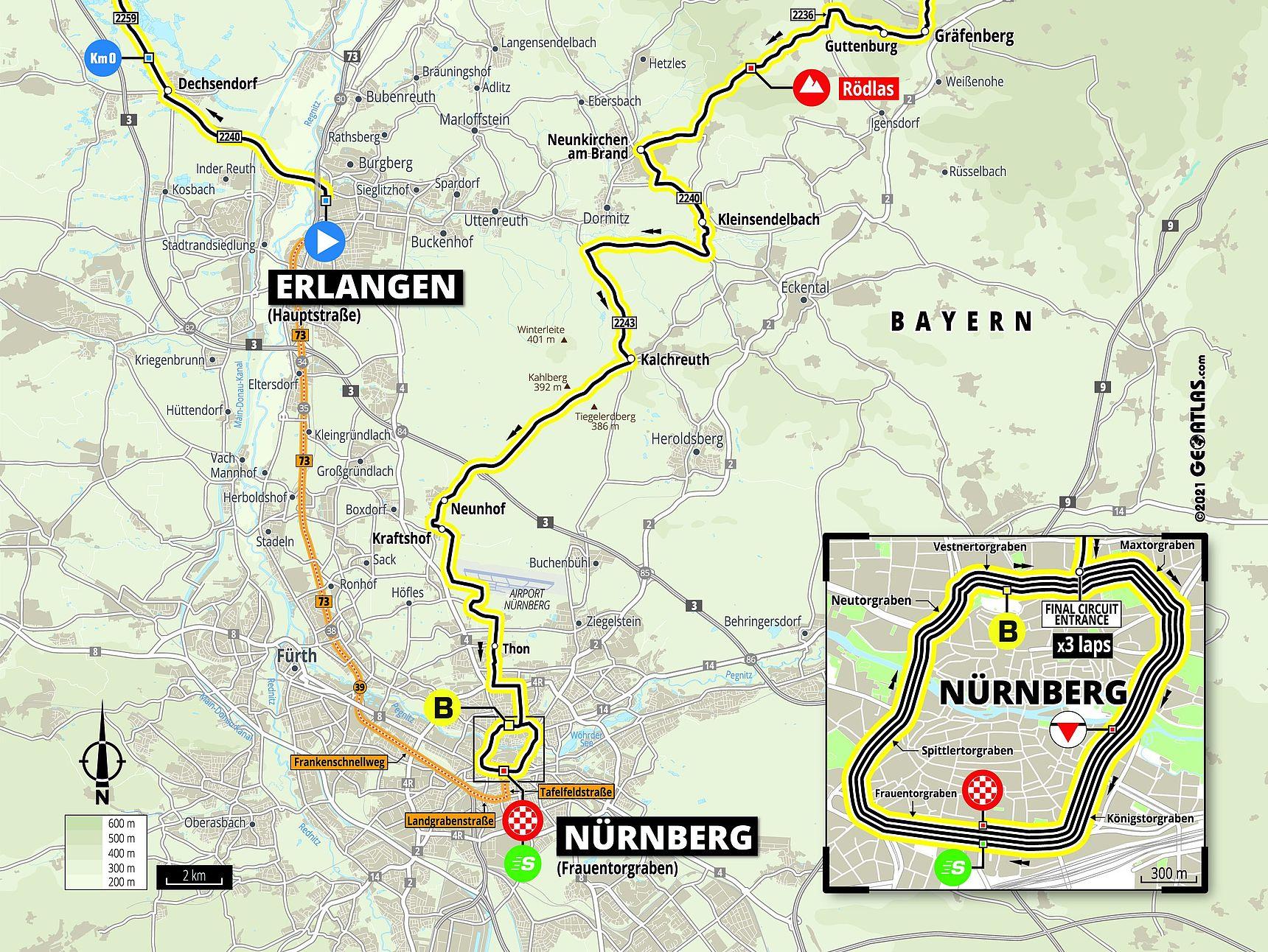 Roadmap Stage 4 Deutschland Tour 2021