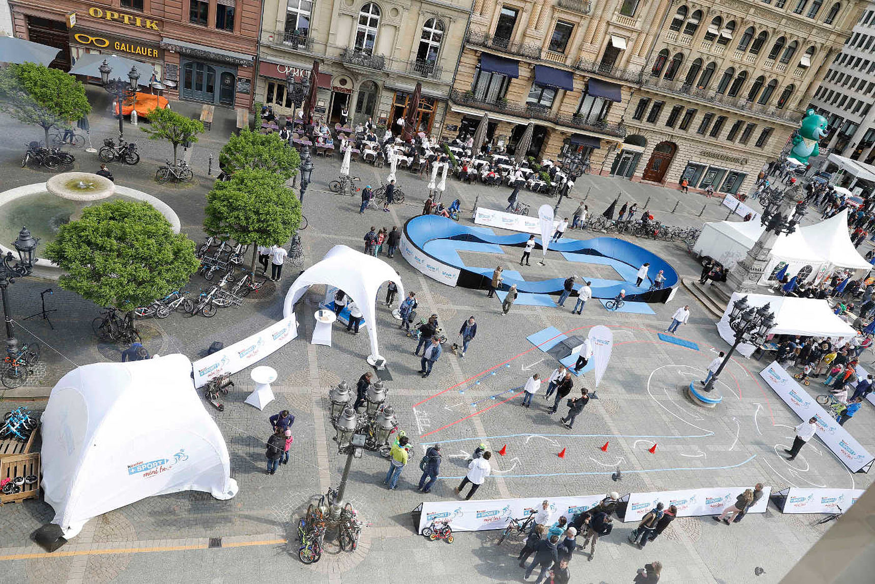 kinder+Sport mini tour Fahrrad-Erlebniswelt
