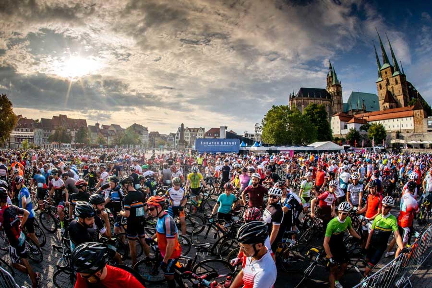 Start Jedermann Tour 2019 in Erfurt