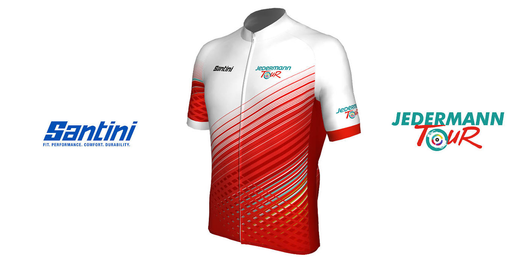 Jedermann Tour Trikot Santini Cycling Wear