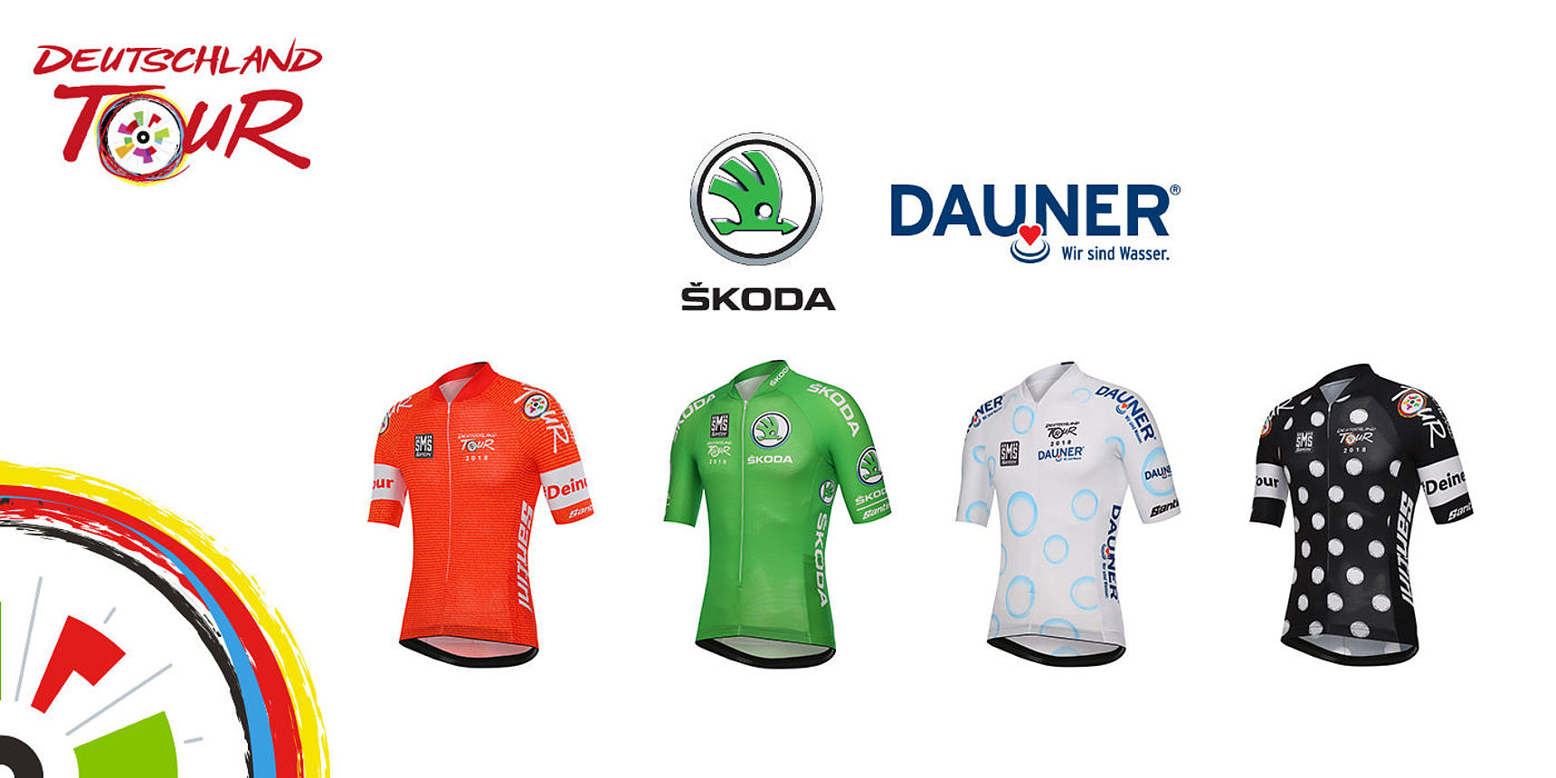 Leader Jerseys Deutschland Tour