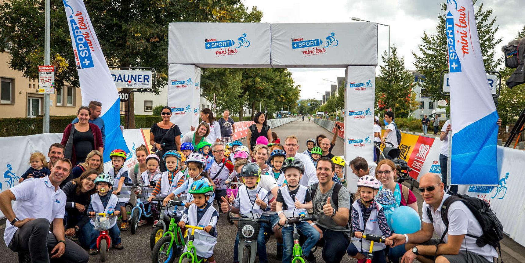 kinder+Sport Laufradrennen