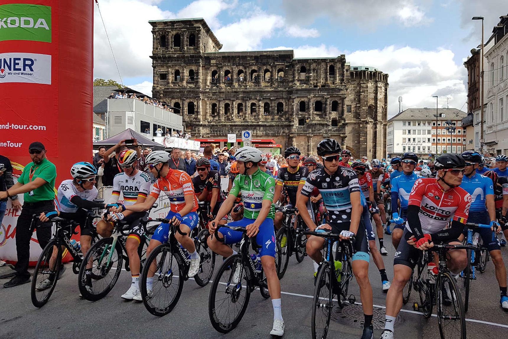 Deutschland Tour 3. Etappe Trier Merzig