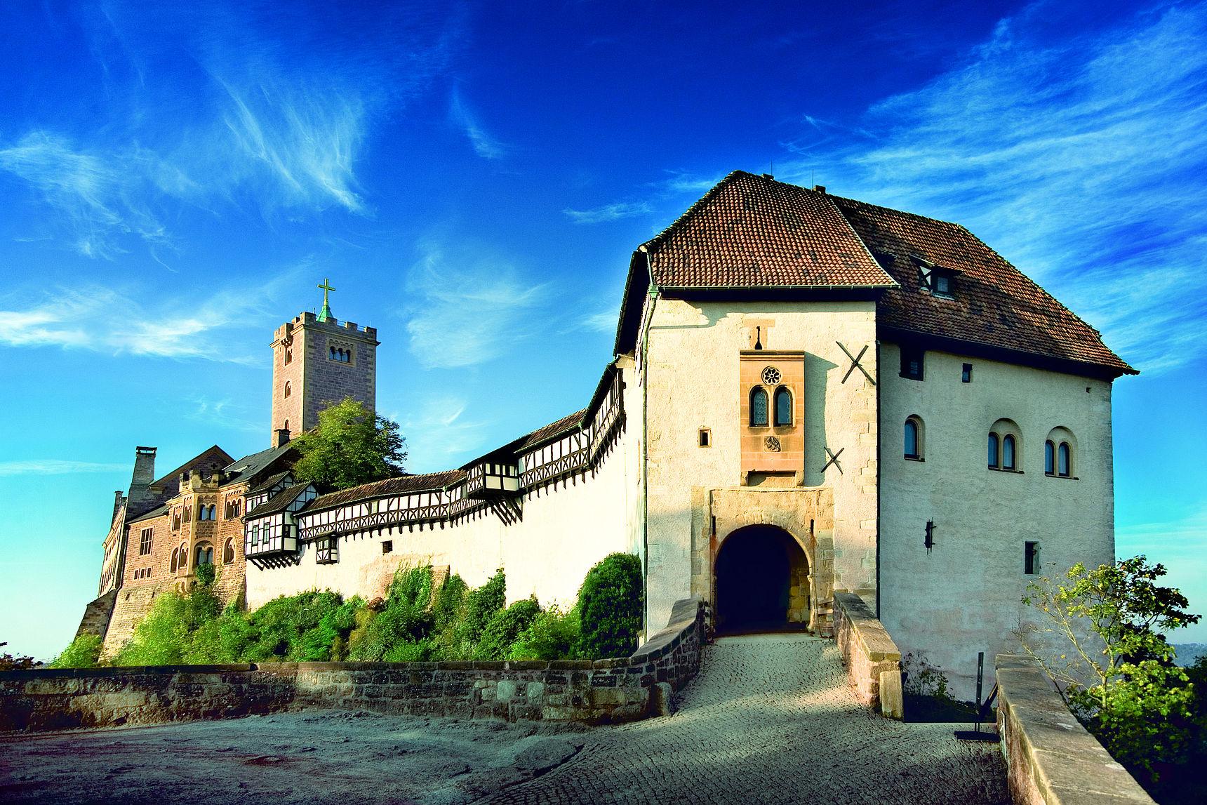Seit 1999 UNESCO-Welterbe – die Wartburg in Eisenach.