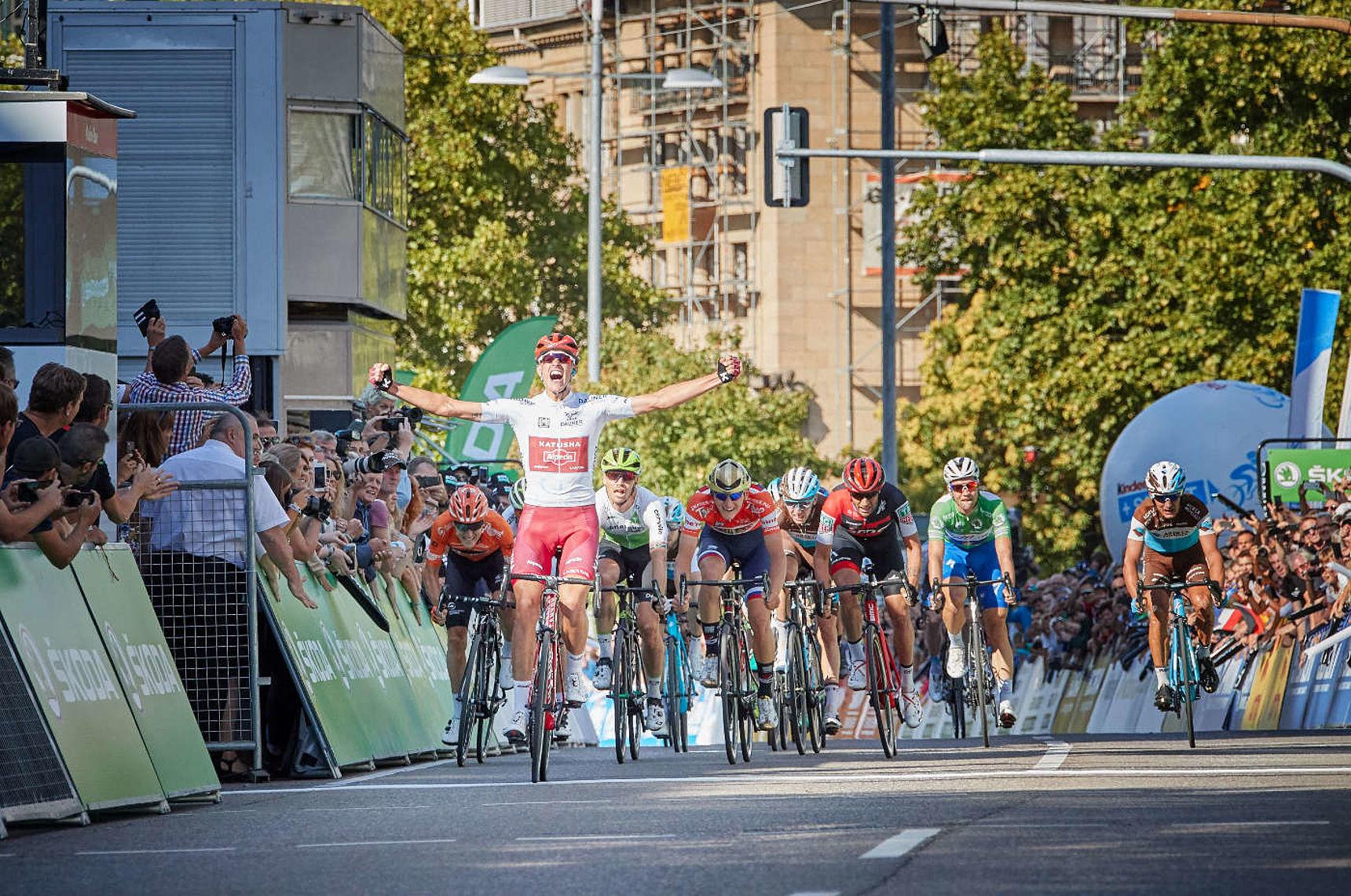 Deutschland Tour 4. Etappe Lorsch - Stuttgart