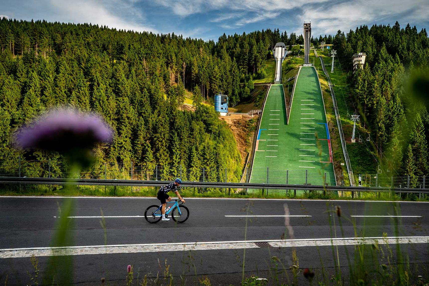 Bild Skisprungschanze