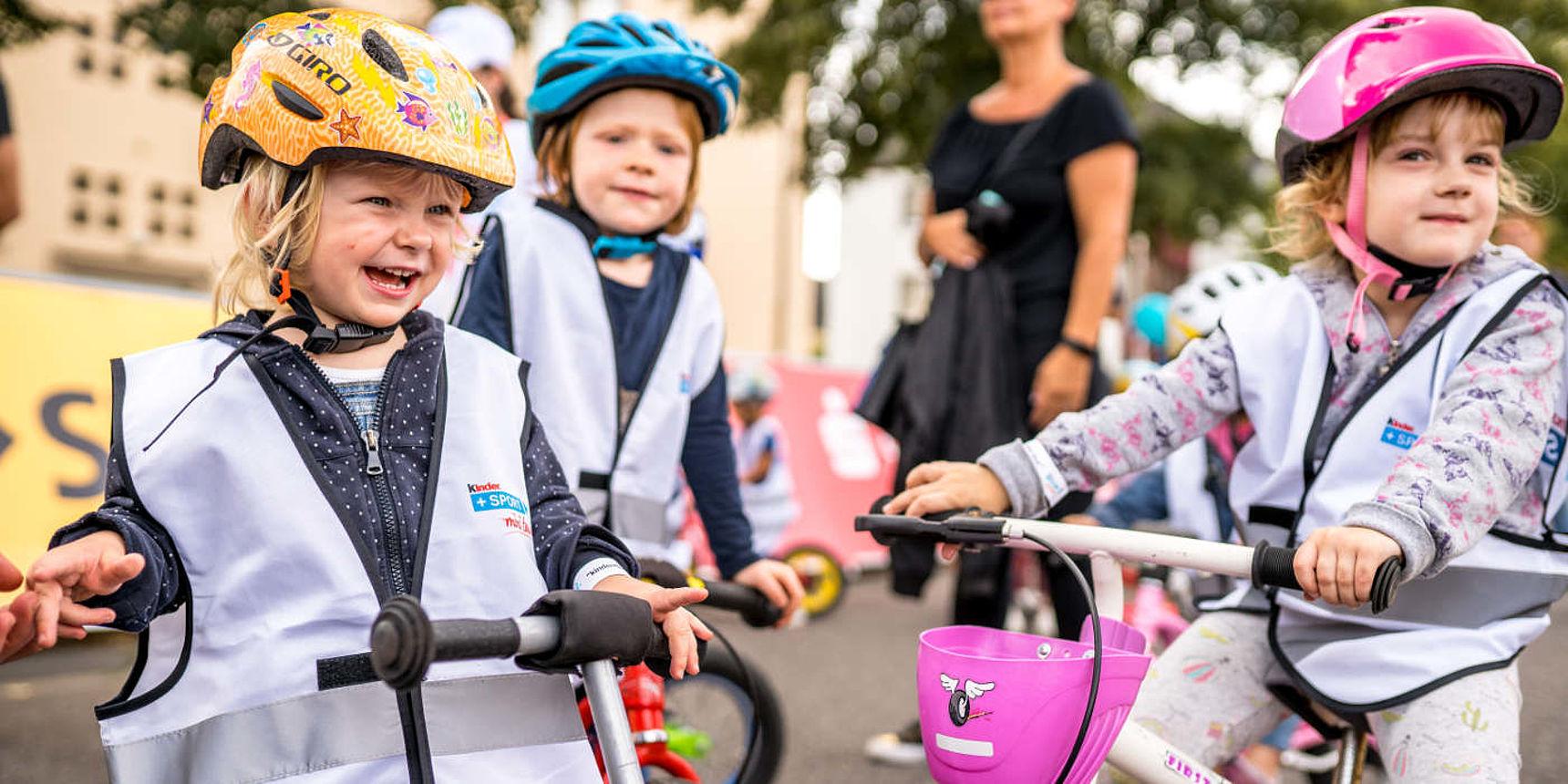 kinder+Sport Laufradrennen nah