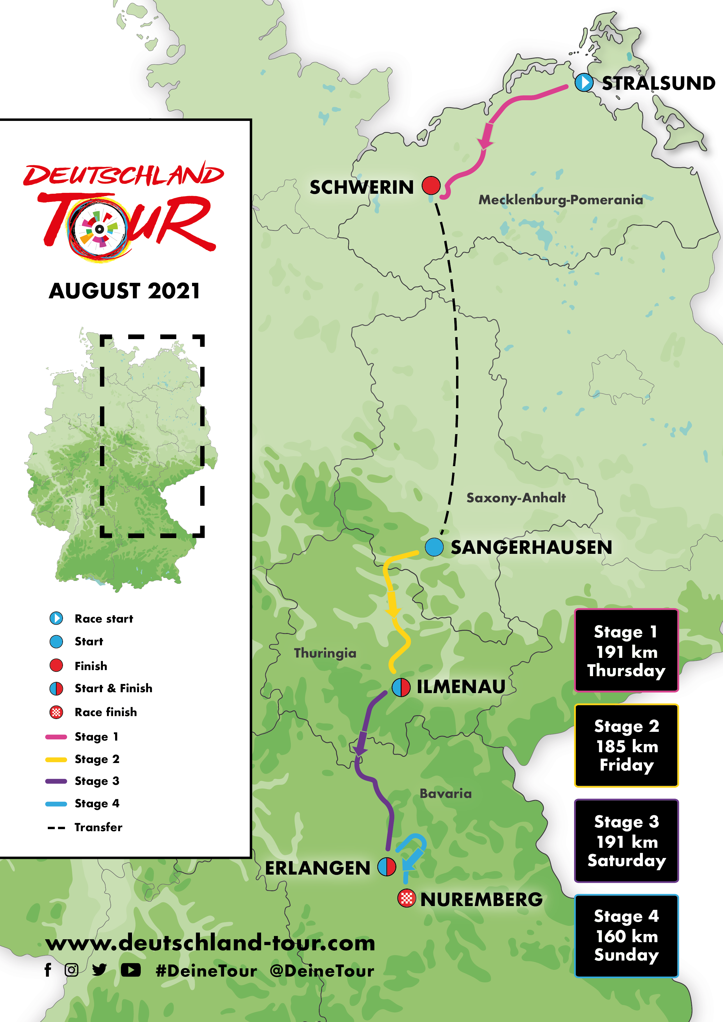 Deutschland Tour Homepage 2020 Official Homepage Of The Professional Cycling Tour Deutschland Tour